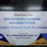 Kuliah Umum Entrepreneurship Akuntansi FEB Unsyiah